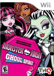 Wii   Monster High Ghoul Spirit