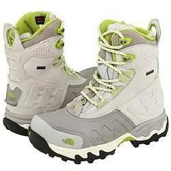 The North Face Womens Slot GTX Moonlight Ivory/Seedling Green Boots