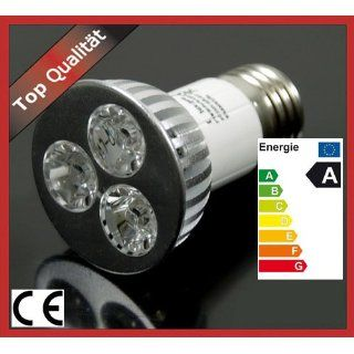 LED LAMPE HIGH POWER SMD SPOT 3x1W E27 LAMPE LED WARMWEISS