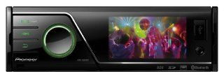 Pioneer MVH 8300BT 1 DIN Moniceiver (7,6 cm (3 Zoll) Display, AUX In