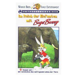 Im Reich der Elefanten mit Bugs Bunny [VHS] VHS