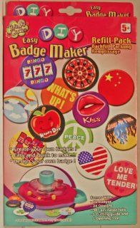Totally Girlie   DIY (Do it yourself)   Easy Badge Maker