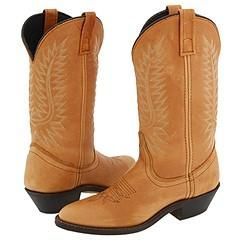 Steve Madden Dillan Tan Leather Boots (Size 8)