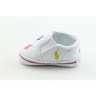 Ralph Lauren Layette Infants Bal Harbour Repeat White Casual Shoes