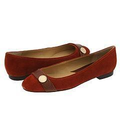 MICHAEL Michael Kors Harness Flat Burnt Orange