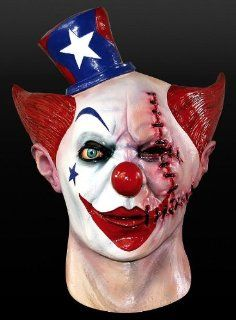 Maske Narben Clown Clownmaske Halloween Karneval Fasching Horror