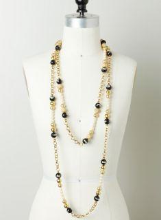 Multi Strand Beaded Necklace
