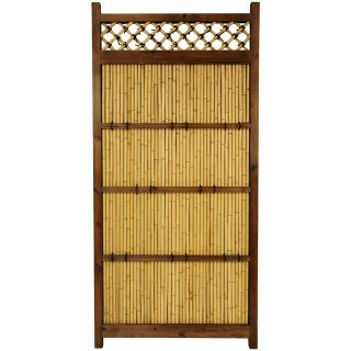 Japanese Bamboo 6x3 foot Zen Garden Fence (China)