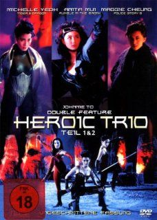 Heroic Trio   1 & 2   Double Feature Maggie Cheung, Anita