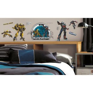 Roommates Transformers Peel and Stick Wall Decals