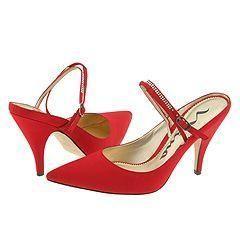 Nina Bibi LS Red Rouge Luster Satin