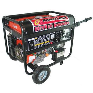Powerland 6500 watt Electric Start Gas Generator