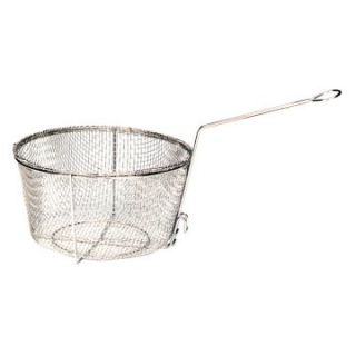 Bayou Classics Nickel Plated 11.5 in. Fry Basket   Stockpots & Fryer