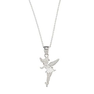 Sterling Silver Disneys Tinkerbell Necklace