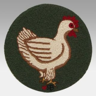 Susan Branch Fly the Coop 15 inch Chair Pad   Hen   Cushions at