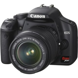 Canon EOS Rebel XSi Black Digital SLR Camera (Body Only)