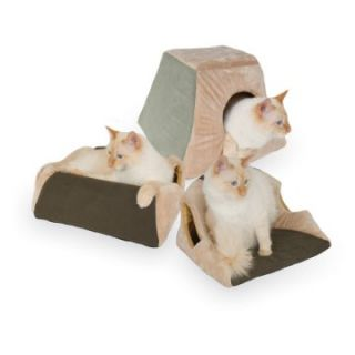 Watt Thermo Kitty Cabin   16 x 16 in.   Cat Beds