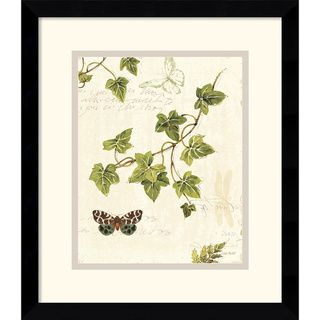 Lisa Audit Ivies and Ferns II Framed Art Print