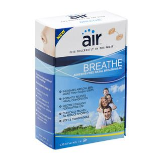 Air Breathe Advanced Nasal Breathing Aid to Increase Airflow (Pack of