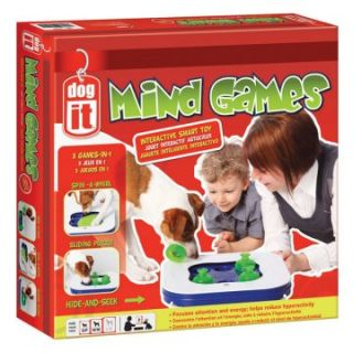 Dogit Mind Games 3 in 1 Smart Toy   Interactive Dog Toys