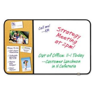 Post it 36 x 22 in. Cork Sticky Dry Erase Bulletin Board   Dry Erase