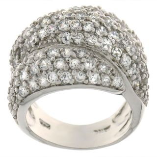 Maddy Emerson Laticia Pave CZ Ring