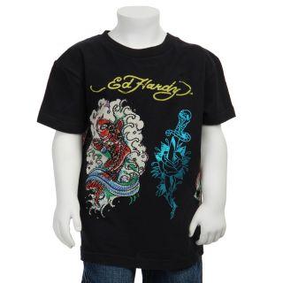 Ed Hardy Girls Dagger T shirt
