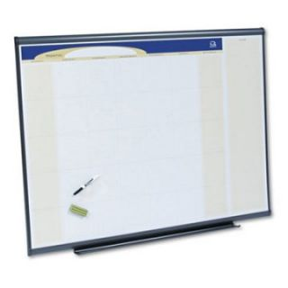 Quartet 48 x 36 in. Monthly Calendar Dry Erase Board   Dry Erase