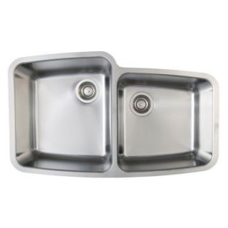 Blanco Performa MicroEdge 1 and 3/4 Medium Bowl Kitchen Sink   Kitchen