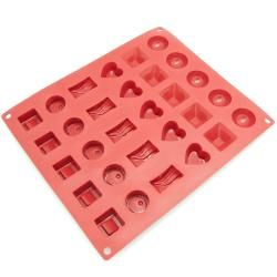 Freshware 30 cavity Silicone Chocolate, Jelly and Candy Mold