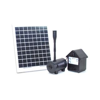10 Watt Solar Water Pump With Battery Control Timer Box