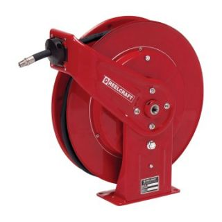 Reelcraft Heavy Duty Air/Water 3/8 in. Hose Reel   Garage Hose Reels