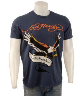Ed Hardy Mens Flying Eagle Short sleeve T shirt