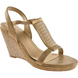 Womens Anne Klein Virtruos Light Gold Synthetic Was $58.95 Today $