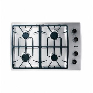 Bosch  NGT745UC 30in Gas Cooktop with 12,500 BTU High Output Burner