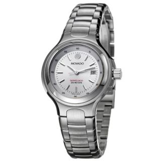 Movado Womens Series 800 Stainless Steel Quartz Watch