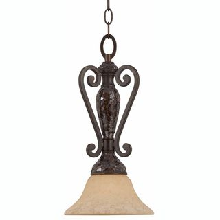 Triarch International Jewelry 1 light Harvest Bronze Mini Pendant