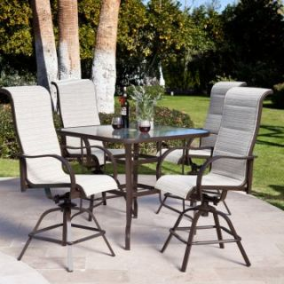 Del Rey Balcony Height Dining Set   Patio Dining Sets