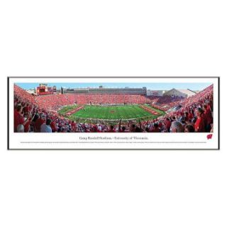 of Wisconsin Football 50 YARD LINE College Standard Frame Wall Art