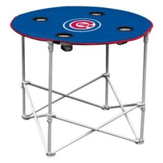 Logo Chair MLB Round Tailgating Table