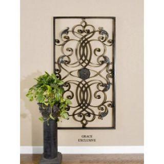 Effie Rectangle Metal Indoor/Outdoor Wall Art   Outdoor Wall Art at