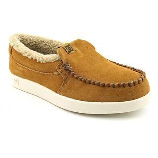 DC Boys Villain LE Regular Suede Casual Shoes (Size 5)