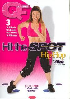 Hit the Spot Hip Hop Workout   Includes Free Quickfix Spots (DVD