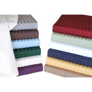 400 Thread Count Stripe Sheet Set