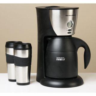 Hamilton Beach Stay or Go Thermal Coffeemaker