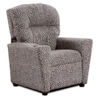Kidz World Leopard Kids Recliner   Kids Recliners