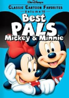 Classic Cartoon Favorites Vol. 10: Best Pals Mickey & Minnie (DVD