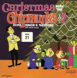 Chipmunks   Christmas With the Chipmunks Vol. 2
