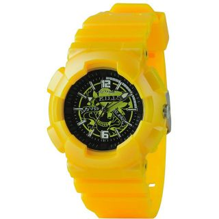 Ed Hardy Mens Yellow Striker Watch