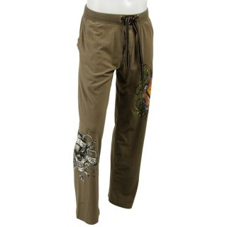 Ed Hardy Mens Two Swords Skull Jersey Pants